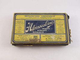 Boite d'Adrenocalcine / Adrenocalcine cardboard box