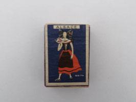 Boite ancienne d'allumettes de sureté Seita Alsace / Vintage French Seita Alsace matchbox