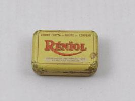 Boite métal pharmacie Réniol / Réniol pharmacy tin