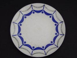 Assiette Digoin et Sarreguemines modèle Moulins / Digoin & Sarreguemines plate, model Moulins