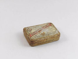Boite en métal de pastilles Fructines Vichy / Fructines Vichy pill tin
