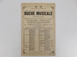 """Partition """"Mignon"""" Ruche musicale populaire / """"Mignon"""" Riche musicale populaire sheet music"""