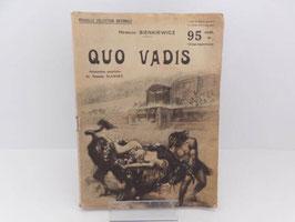 Roman Nouvelle Collection Nationale Quo Vadis / Quo Vadis french novel Nouvelle Collection Nationale