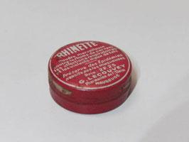 Petite boite ancienne en métal de médicament Rhinette / Small old Rhinette pharmacy tin