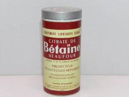 Boite métal pharmacie Citrate de Betaine / Old Citrate de Betaine pharmacy tin