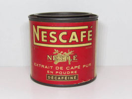 Boite métal Nescafé Nestlé / Nescafé Nestlé tin