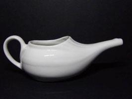 Biberon ou tasse de malade en porcelaine blanche ancienne / Antique French sick cup in white porcelain