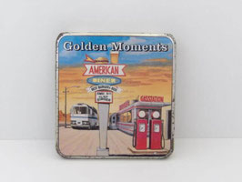 Boite en métal de cigarillos Golden Moments / Golden Moments cigarillos tin