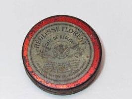 Boite métal pâte de réglisse Florent / Liquorice paste Florent tin