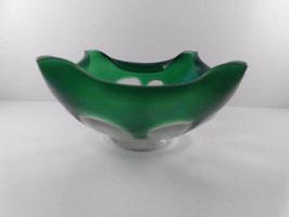 Coupe vintage en verre soufflé / Vintage blown glass bowl
