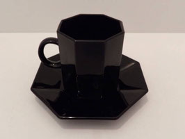 Tasse et soucoupe Esso Arcoroc / Esso Arcoroc coffee cup and saucer