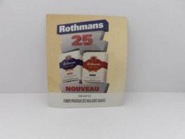 Tapis de bar cigarettes Rothmans / Rothmans cigarette bar mat