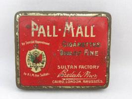 Boite en métal de cigarettes Pall Mall Sultan Factory / Pall Mall Sultan Factory cigarette tin