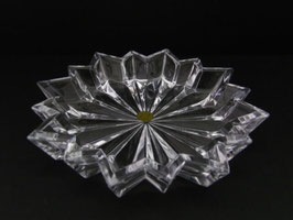 Vide-poche en cristal / Crystal ashtray