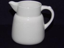 Pichet blanc Creil et Montereau / White Creil & Montereau jug