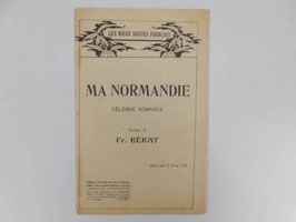 "Partition Ma Normandie / ""Ma Normandie"" sheet music"