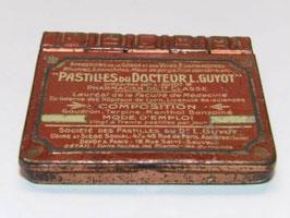Boite métal pharmacie pastilles Docteur Guyot / Doctor Guyot tablets pharmacy tin
