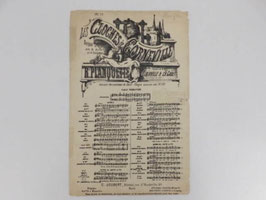 "Partition Les Cloches de Corneville / ""Les cloches de Corneville"" sheet music"