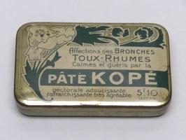 Boite de pharmacie pate Kope / Kope paste pharmacy tin