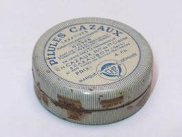 Boite métal pharmacie pilules Cazaux / Pharmacy pills Cazaux tin