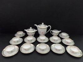 Service à café porcelaine de Limoges / Limoges porcelain coffee service
