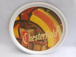 Plateau de service de bar publicitaire Chesterfield / Chesterfield bar service tray