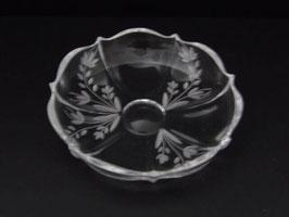 Coupelle en cristal / Crystal dish