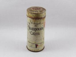 Boite en métal vintage doses shampooing Caïffa / Vintage french Caïffa shampoo tin