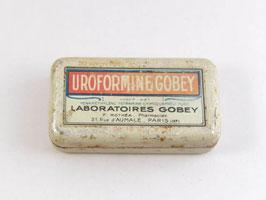Boite en métal Uroformine Gobey / Gobey Uroformine tin