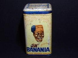 Boite métal Banania marquée pâtes / Banania tin marked pâtes