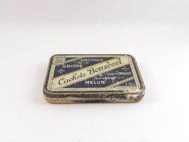 Boite en métal Cachets Benzocol / Benzocol pill tin