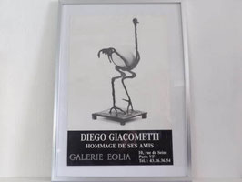 Affiche d'exposition Diego Giacometti / Diego Giacometti poster