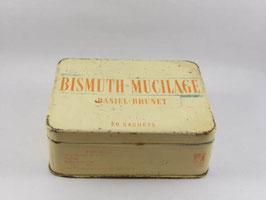 Boite en métal Bismuth Mucilage / Bismuth Mucilage tin