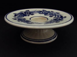 Bougeoir en céramique Delft / Delft candleholder