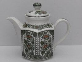 Théière anglaise en grès fin de Ridgway modèle Canterbury / Ridgway ironstone tea pot model Canterbury
