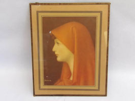 "Image de l'oeuvre de Jean-Jacques Henner Fabiola / Print of the painting of Jean-Jacques Henner ""Fabiola"""
