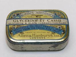 Boite métal pharmacie Allenburys London / Allenburys London pharmacy old tin