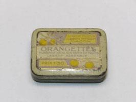 Boite métal pharmacie orangette / Orangette pharmacy old tin