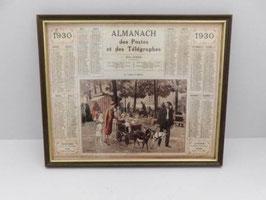 """Almanach 1930 postes et télégraphes  / French 1930 Almanch from """"Postes et Télégraphes"""""""