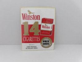 Tapis de bar cigarettes Winston / Winston cigarette bar mat