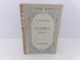 Les Lettres choisies Mme de Sévigné / French book Les lettres choisies Mme de Sévigné