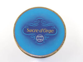 Grande boite en métal sucre d'Orge Vichy Etat / Vichy Etat large sweet tin