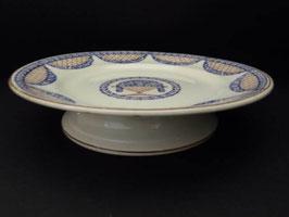 Compotier en faience de Longwy / Longwy fruit bowl