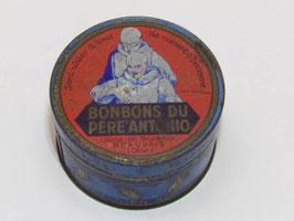 Boite métal bonbons du père Antonio / Monk Antonio sweet tin