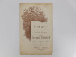 Partition Novembre / Novembre sheet music