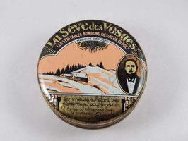 Boite en métal Bonbons La Sève des Vosges / Vintage french candy tin