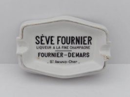 Cendrier ancien en céramique Sève Fournier/Old Sève Fournier ceramic Ashtray