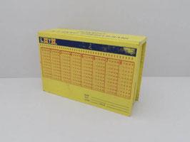 Tirelire publicitaire Loto vintage  / Vintage publicity French Lottery money box