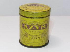 Boite ancienne en métal de médicament Azym / Old french Azym pharmacy tin
