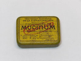 Boite metal pharmacie Mucinum / Mucinum pharmacy tin
